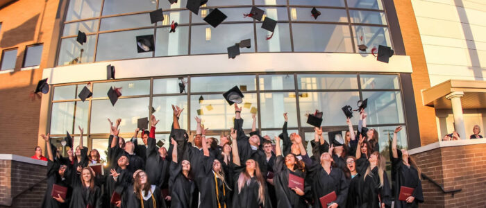 Crosstimbers Academy Students Graduating